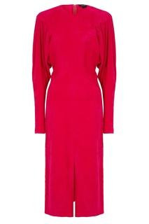 Платье цвета фуксия Venia Isabel Marant