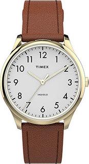 женские часы Timex TW2T72300YL. Коллекция Easy Reader