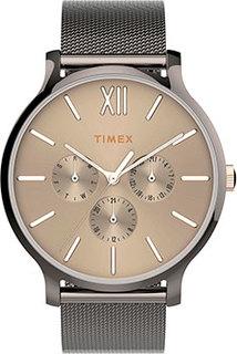 женские часы Timex TW2T74700YL. Коллекция Transcend