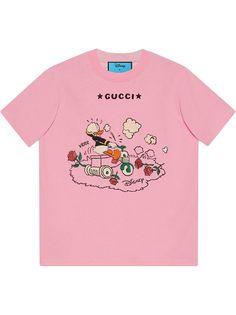 Gucci футболка Donald Duck из коллаборации с Disney