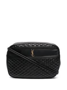 Saint Laurent стеганая сумка через плечо Victoire