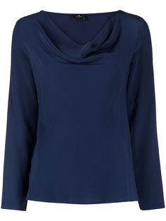 Etro блузка со сборками