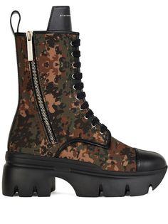 Giuseppe Zanotti ботинки Apocalypse в стиле милитари