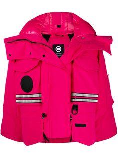 Canada Goose укороченная куртка Snow Mantra из коллаборации с Angel Chen