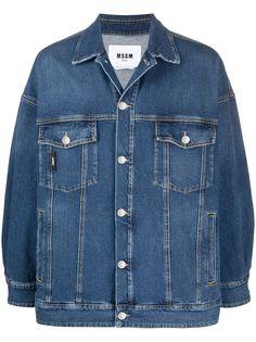 MSGM джинсовая куртка
