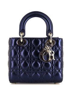 Christian Dior маленькая сумка-тоут Lady Dior 2010-го года