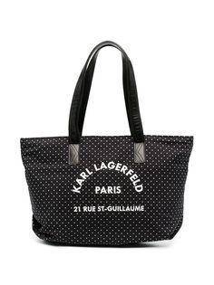 Karl Lagerfeld Kids сумка-тоут Pixel Dot