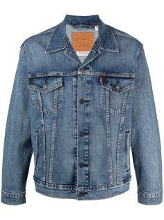 Levis джинсовая куртка Trucker с контрастной строчкой