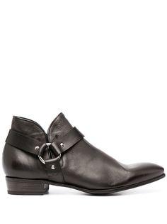 Lidfort ботинки с ремешками