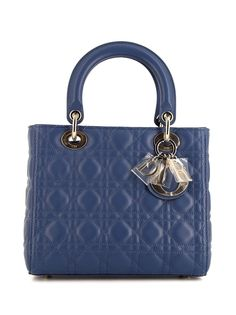Christian Dior сумка Lady Dior pre-owned среднего размера 2000-х годов
