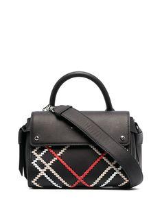 Karl Lagerfeld сумка K/Ikon с верхней ручкой и декоративной строчкой
