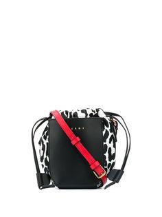Marni сумка с леопардовым принтом