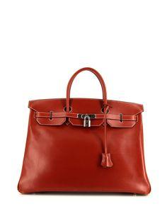 Hermès сумка-тоут Birkin 40 2008-го года Hermes