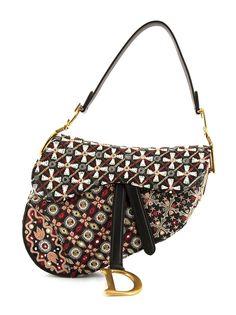 Christian Dior сумка на плечо Saddle 2020-го года