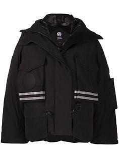 Canada Goose куртка со светоотражающими полосками