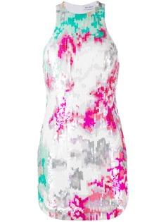 The Attico платье без рукавов с пайетками