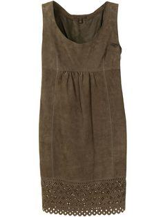 Louis Vuitton платье без рукавов с английской вышивкой