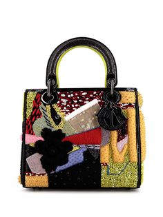 Christian Dior сумка Lady Dior Edition limitée Mickalene Thomas 2019-го года