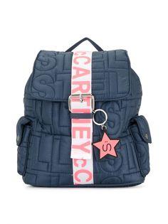 Stella McCartney Kids рюкзак из переработанного полиэстера с логотипом
