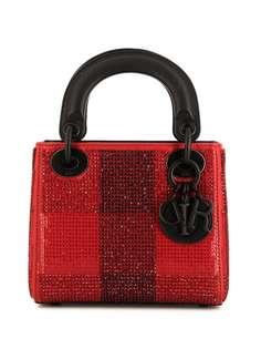 Christian Dior сумка-тоут Lady Dior pre-owned размера мини