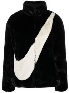 Nike шуба Swoosh из искусственного меха
