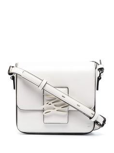 Karl Lagerfeld лакированная сумка через плечо K/Autograph