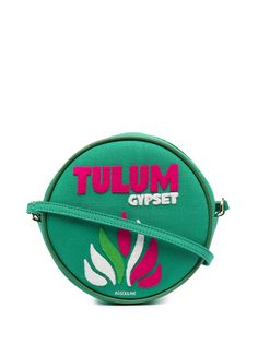Olympia Le-Tan круглая сумка на плечо Tulum