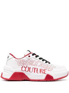 Versace Jeans Couture кроссовки с логотипом