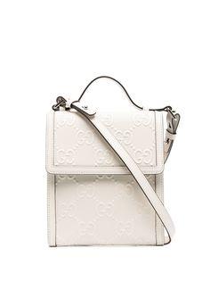 Gucci сумка-мессенджер с логотипом GG