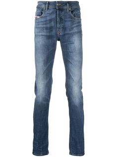 Diesel джинсы скинни Sleenker с заниженной талией