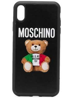 Moschino чехол для iPhone XS Max с принтом