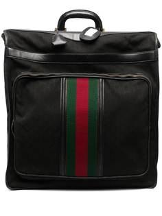Gucci Pre-Owned дорожная сумка Sylvie Web 1970-х годов