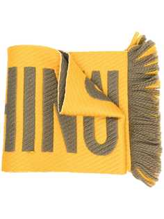Moschino шарф с логотипом