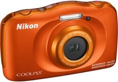 Цифровой фотоаппарат Nikon Coolpix W150 (оранжевый)