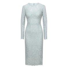 Платье из хлопка и вискозы Dolce & Gabbana