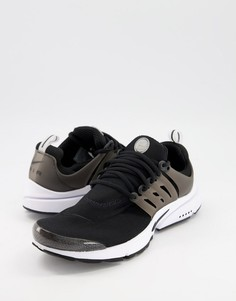 Черно-белые кроссовки Nike Air Presto-Черный цвет
