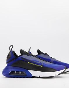 Синие кроссовки Nike Air Max 2090-Голубой