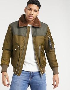 Куртка Diesel W-Louis-Коричневый цвет