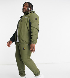 Спортивные штаны цвета хаки ellesse PLUS Kadi-Зеленый цвет