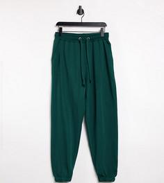 Изумрудно-зеленые джоггеры COLLUSION Unisex-Зеленый цвет