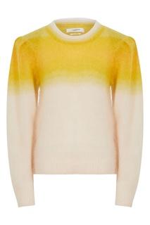 Бежево-желтый свитер Deniz Isabel Marant