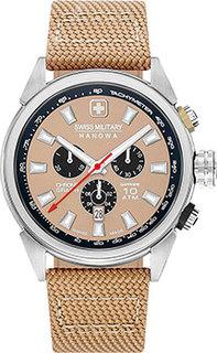 Швейцарские наручные мужские часы Swiss military hanowa 06-4322.04.014. Коллекция Platoon Chrono