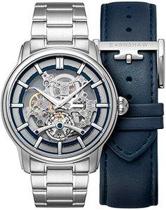 мужские часы Earnshaw ES-8126-33. Коллекция Longitude