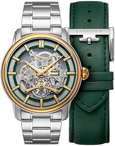 мужские часы Earnshaw ES-8126-11. Коллекция Longitude