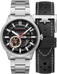 мужские часы Earnshaw ES-8127-11. Коллекция Ventus Motion