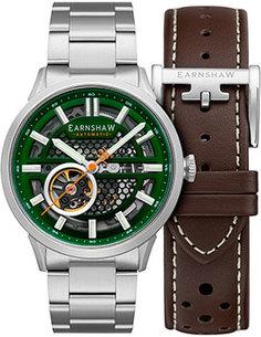 мужские часы Earnshaw ES-8127-33. Коллекция Ventus Motion