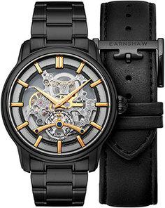 мужские часы Earnshaw ES-8126-55. Коллекция Longitude