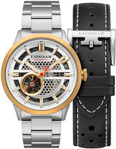 мужские часы Earnshaw ES-8127-44. Коллекция Ventus Motion