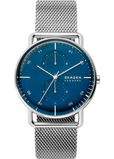 Швейцарские наручные мужские часы Skagen SKW6690. Коллекция Mesh