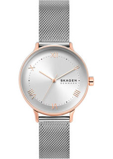 Швейцарские наручные женские часы Skagen SKW2876. Коллекция Mesh